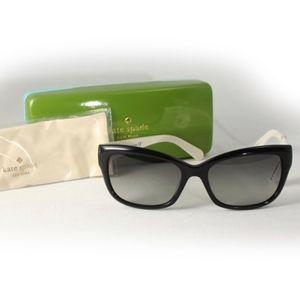 Kate Spade classic Black/White Sunglasses